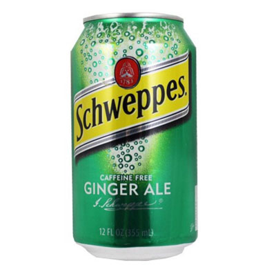 Schweppes Ginger Ale Can