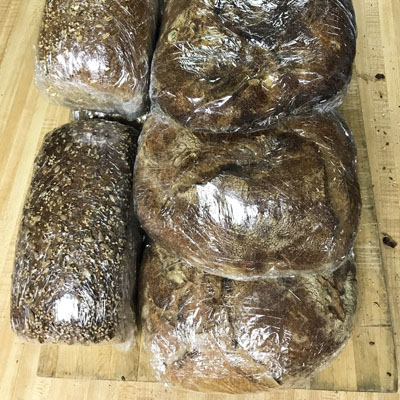 Mixed whole loaves