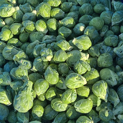 Brussel Sprouts - 15 lb. Case