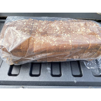 Wheat Bread Loaf - Sliced