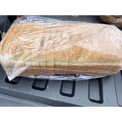 White Bread Loaf Sliced