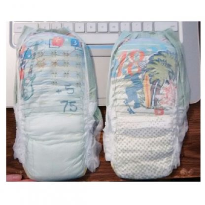 Disposable Pull-On Baby Diaper