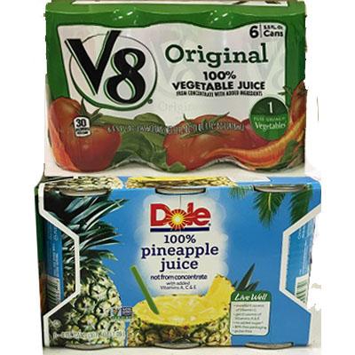 Single Serve Juices